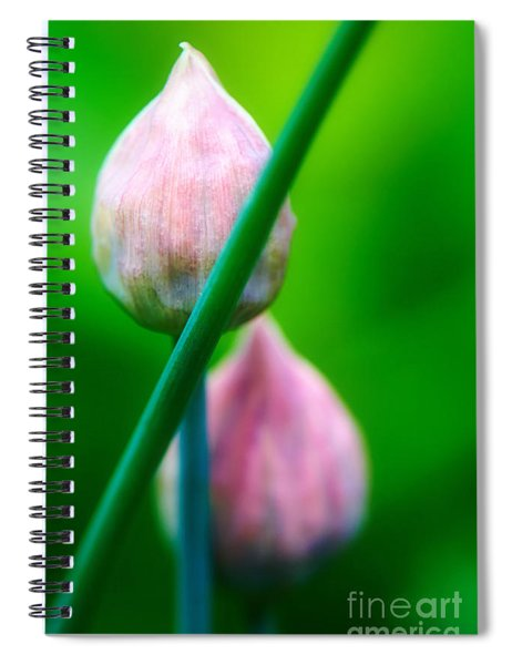Chive Buds Spiral Notebook