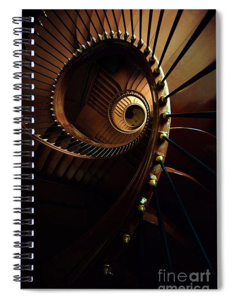 Chocolate Spirals Spiral Notebook