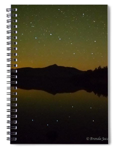 Chocorua Stars Spiral Notebook