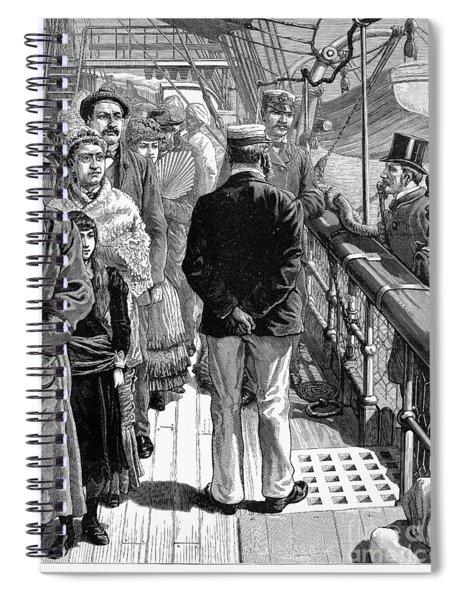 Cholera: Egypt, 1883 Spiral Notebook
