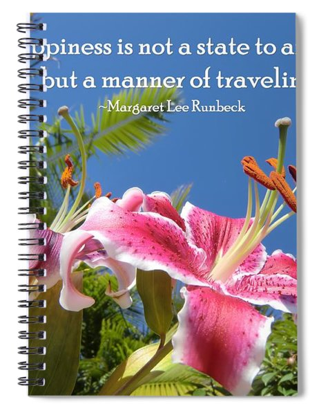 Choose Your Quote Choose Your Picture 16 Spiral Notebook