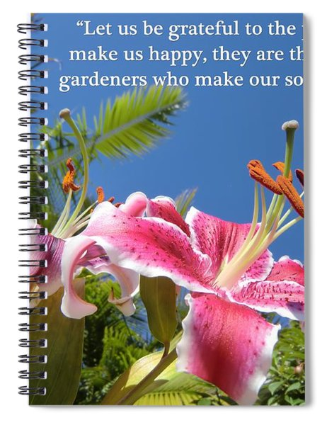 Choose Your Quote Choose Your Picture 17 Spiral Notebook