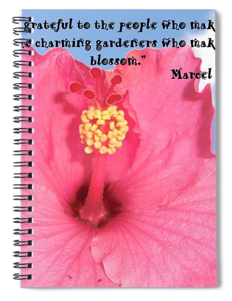 Choose Your Quote Choose Your Picture 4 Spiral Notebook