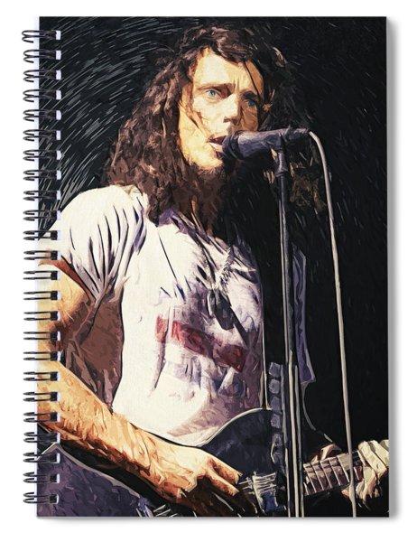 Chris Cornell Spiral Notebook