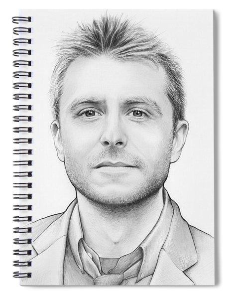 Chris Hardwick Spiral Notebook