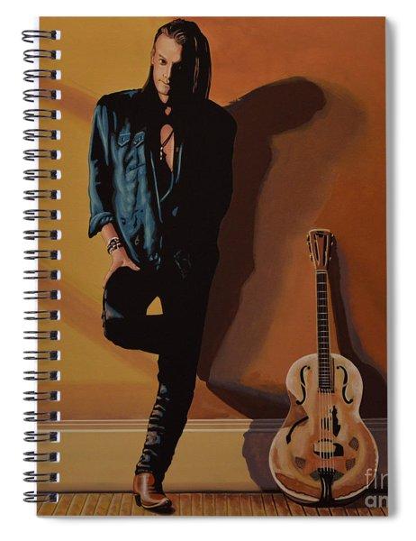 Chris Whitley Spiral Notebook