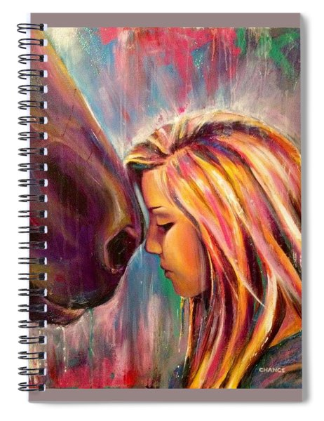 Chrissy And Rusty Spiral Notebook