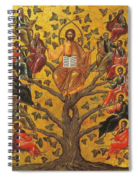 Christ And The Apostles Spiral Notebook