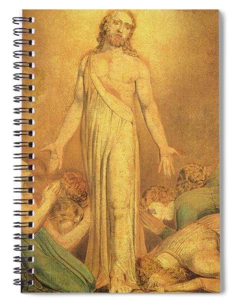 Christ Appearing To The Apostles After The Resurrection Spiral Notebook