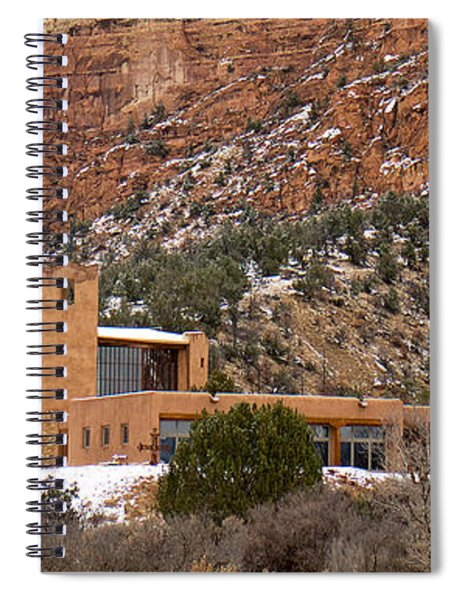 Christ In The Desert Monastery Spiral Notebook