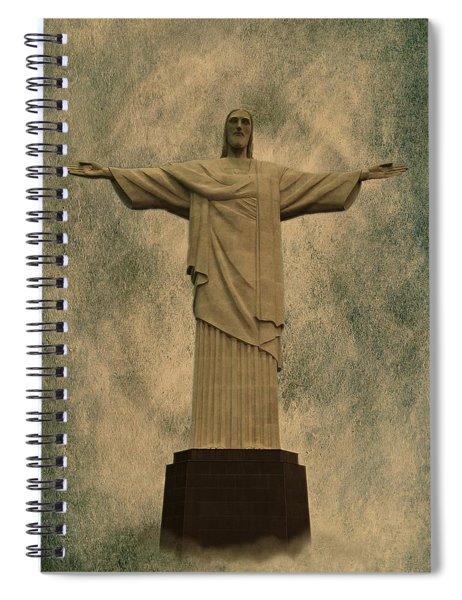 Christ The Redeemer Brazil Spiral Notebook