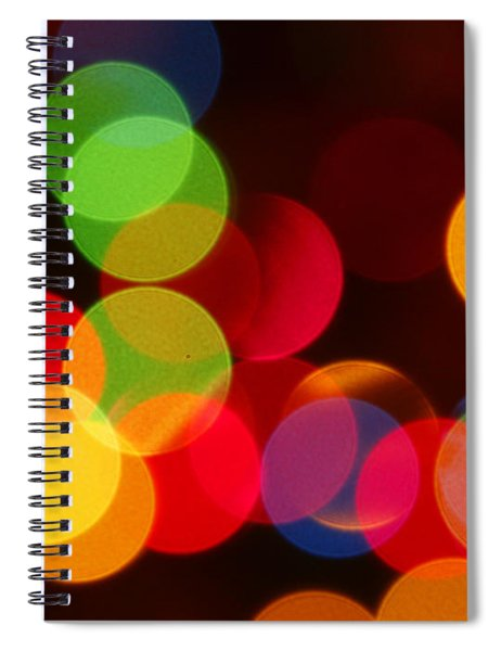 Unfocused Spiral Notebook