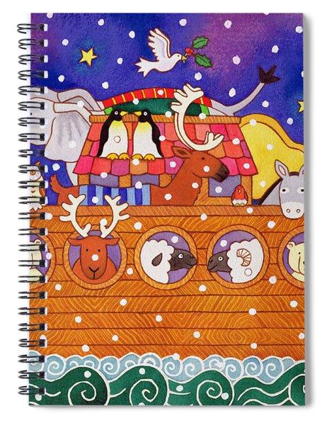 Christmas Ark Spiral Notebook