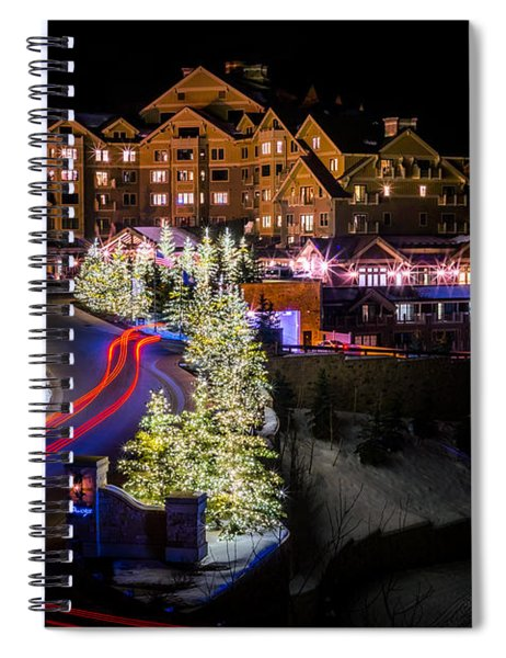 Christmas At The Montage Spiral Notebook