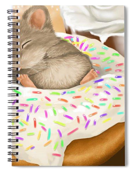 Christmas Binge Spiral Notebook
