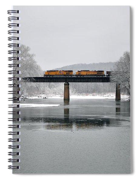 Christmas Coal Spiral Notebook