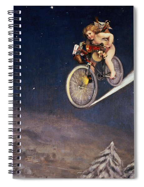 Christmas Delivery Spiral Notebook