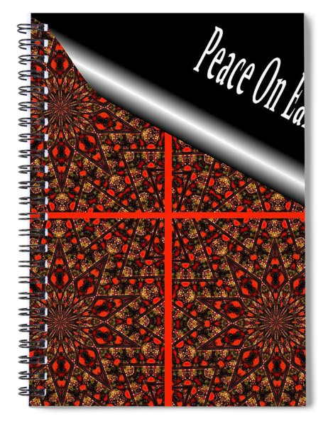 Christmas Gift Wrapping Spiral Notebook