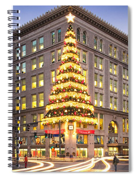 Christmas In Pittsburgh  Spiral Notebook