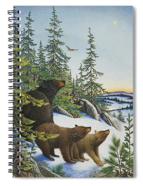 Christmas Morning Spiral Notebook