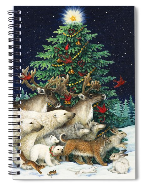 Christmas Parade Spiral Notebook