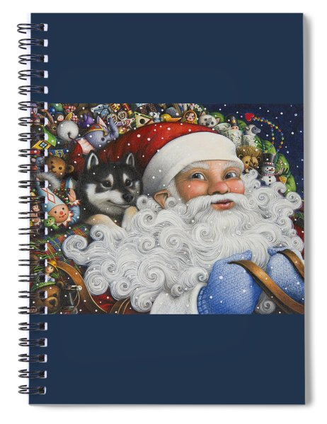 Christmas Stowaway Spiral Notebook