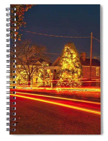 Christmas Town Usa Spiral Notebook