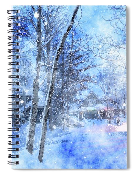 Christmas Wishes Spiral Notebook