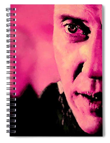 Christopher Walken @ Pulp Fiction Spiral Notebook