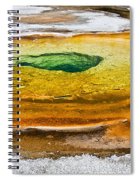 Chromatic Pool Vertical Spiral Notebook