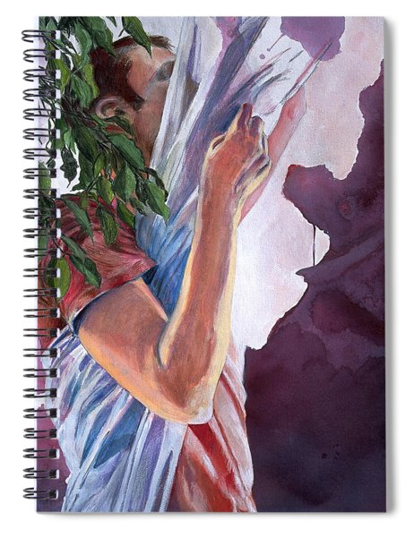 Chrysalis Spiral Notebook