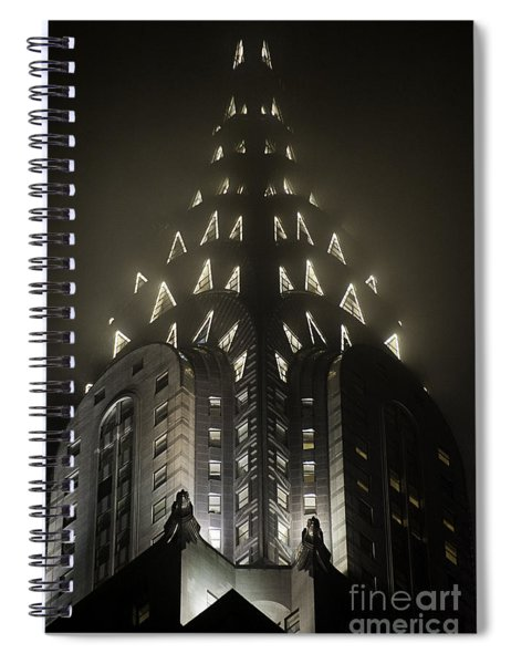 Chrysler Fog Lights Spiral Notebook