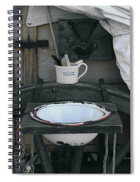 Chuckwagon Wash Basin Spiral Notebook