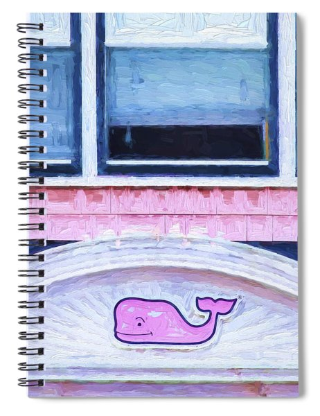 Church Camp House Detail Painterly Series 1 Spiral Notebook