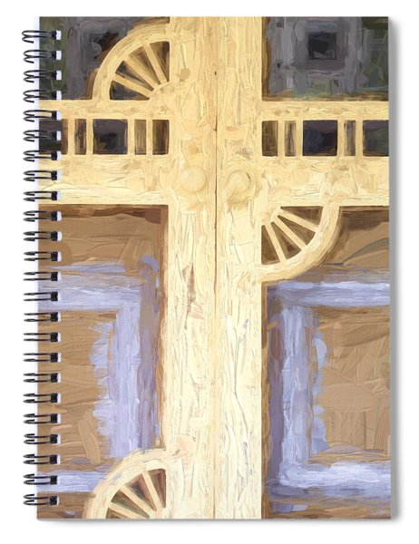 Church Camp House Detail Painterly Series 10 Spiral Notebook