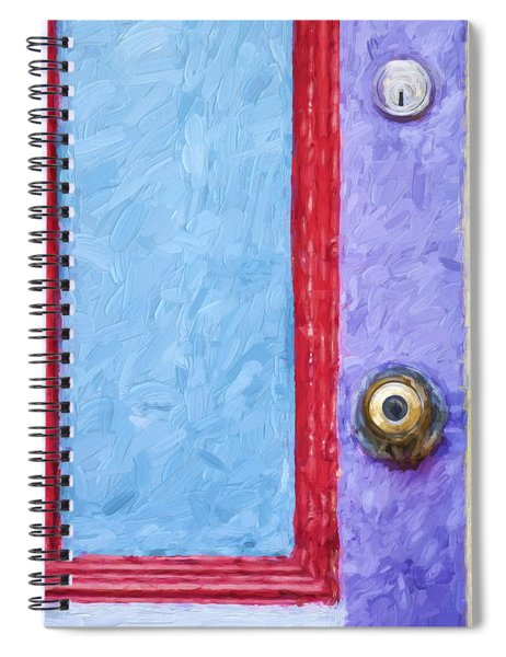 Church Camp House Detail Painterly Series 2 Spiral Notebook