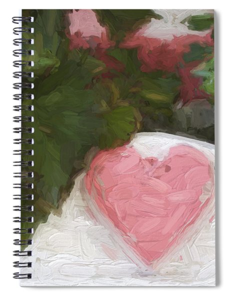 Church Camp House Detail Painterly Series 20 Spiral Notebook
