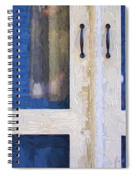 Church Camp House Detail Painterly Series 4 Spiral Notebook