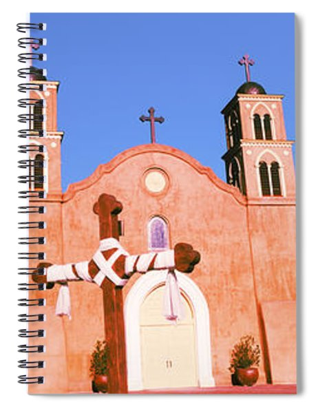 Church In A City, San Miguel Mission Spiral Notebook