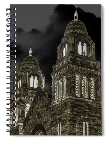 Church Lights On St. Peter Cathedral Spiral Notebook