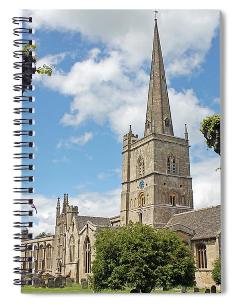 Church Of St John The Baptist Spiral Notebook