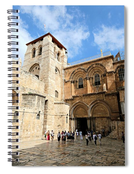 Church Of The Holy Sepulchre Spiral Notebook