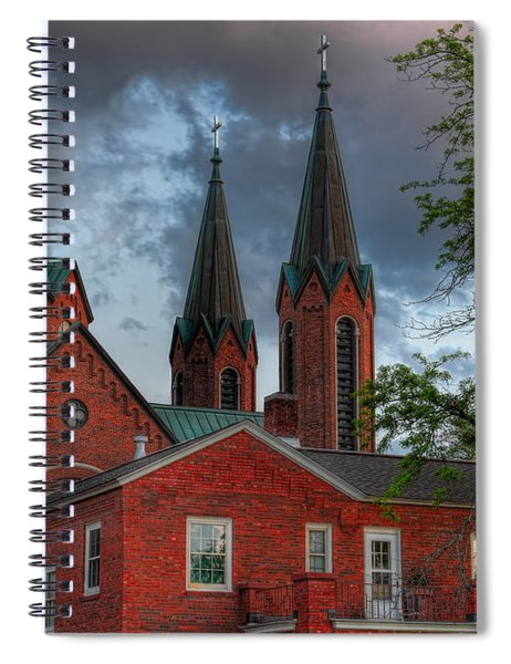 Church Of The Resurrection Spiral Notebook