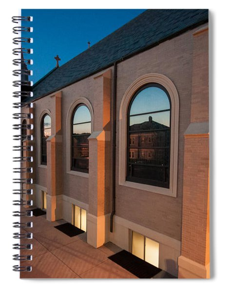 Church Reflections Spiral Notebook