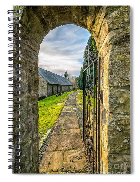 Church Way Spiral Notebook