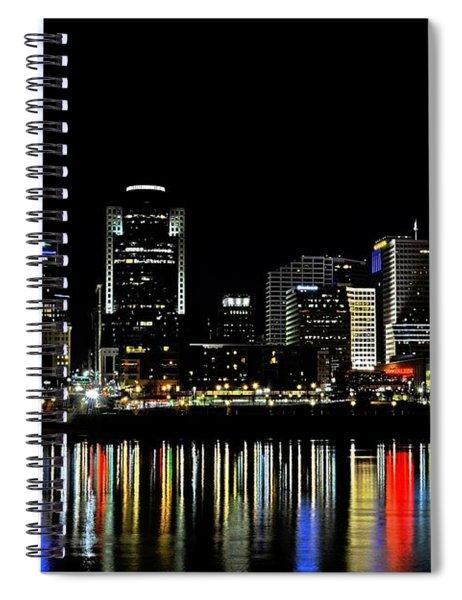 Cincinnati Skyline Dreams 3 Spiral Notebook