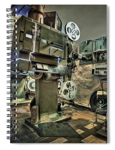 Cinematica Spiral Notebook