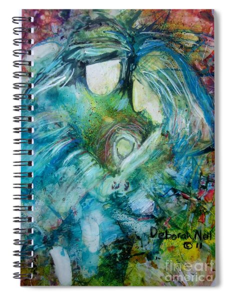 Circle Of Love Spiral Notebook