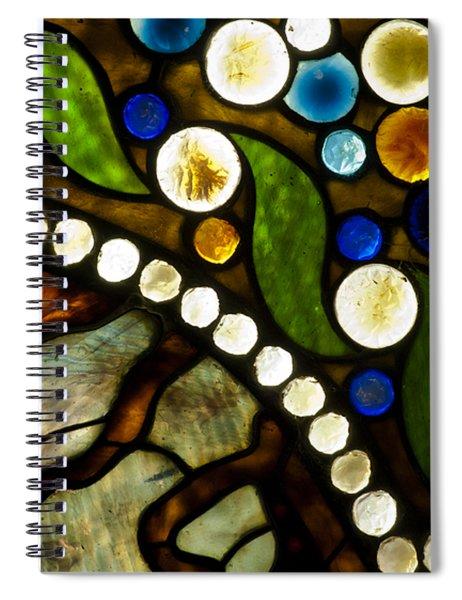 Circles Of Glass Spiral Notebook