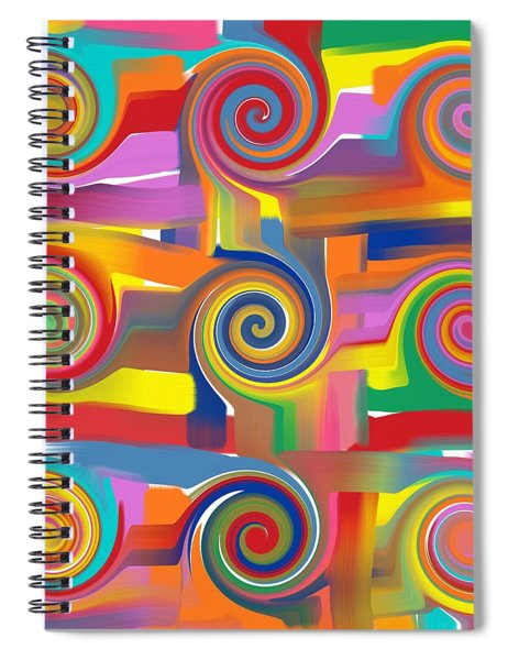 Circles Of Life Spiral Notebook